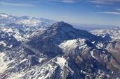 Aerial View of Aconcagua
