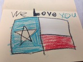 KPS Student Made Veterans Day Card
