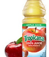 Apple juice $1.00