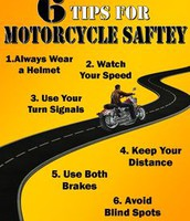 6 tips for motorcycle safety