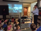 Team Kindy kids loved the tornado videos