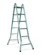 雙功能鋁鎂合金摺梯