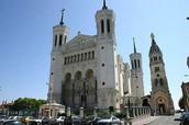 Basilique Notre-Dame de Fourvière.