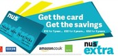 GCFE students sign up for NUS Extra Cards