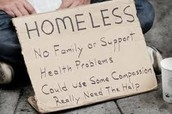 You can help homeless people get off the streets.