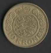 10 Taani krooni, tagakülg