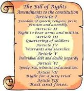 Bill of Rights....
