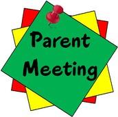 4th Grade Parent Meeting