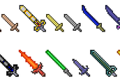 Terraria swords