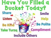 Third Grade Bucket Fillers