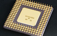 Intel 80486DX2 CPU (below)