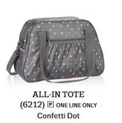 All-In Tote - Confetti Dot