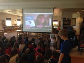 Skype with author Kate Messner