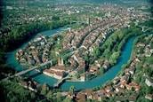Switzerland's capital ( Bern )