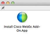 Step 3: Download and Install WebEx Add Ons