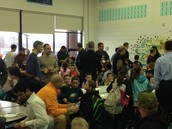 Thanks to our NES dads for spending the morning with us!