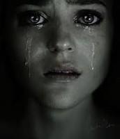 Es logico que llores por el dolor.