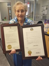 Grandma Hale honored in Jefferson City