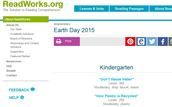 Earth Day: Reading Passages from ReadWorks