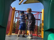 On the Look Out at Recess!