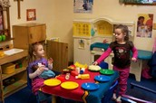 Children Playing in Dramatic Play