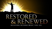 2015 IS THE YEAR OF RESTORATION!