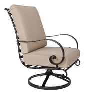 Classico Swivel High Back Lounge