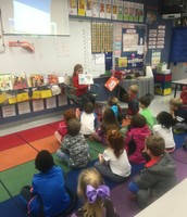 Look who was a Mystery Reader!