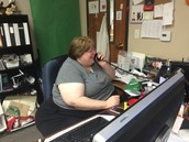 Computer teacher playing phone tag!