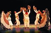 Cumbia in Dancing