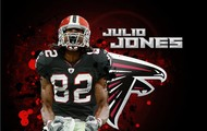 julio jones is the running back for the falcons