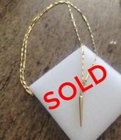 Bianca Lariat, Gold - $35