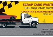 We are your local scrap car company