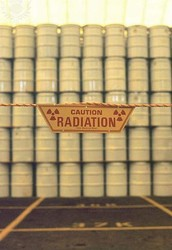 Where does the nuclear waste SAFELY go?