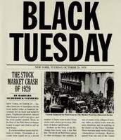 Black Tuesday Newspaper