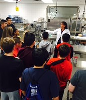 7th Graders visit TECC