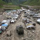 Uttarkashi temple swept away by raging rivers