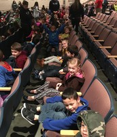 We are ready for the Show Mrs. Hipple!!!!