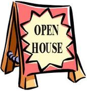 OPEN HOUSE- Monday, September 28th @5:30