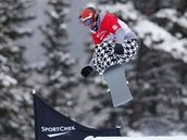 Here is Nick on a slope during the Winter Olympics in 2013