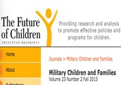 The Future of Children Military Children and Families issue