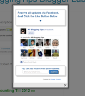 """Some pages have a welcome tab that pops up when you visit their page asking you to """"Like"""" them from the beginning."""