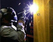 Welding at BCIT Medford, by Danielle Hartman