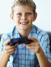 Kids love gaming!