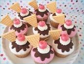bake cupcakes.
