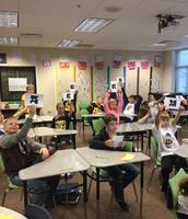 Plickers in Math class