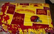 Iowa State Fleece Tie Blanket
