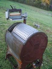 first washing machine