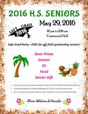 Safe Grad Party - May 29
