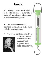 SCIENCE-Force & Motion